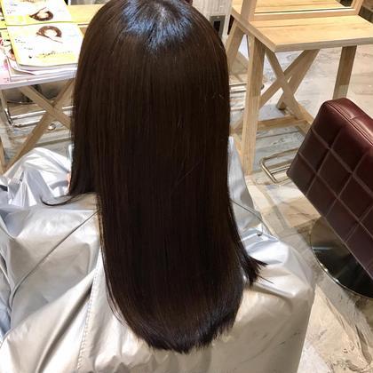 ロング TOKIOトリートメントと同時施術でツヤサラな美髪にo(^-^)o