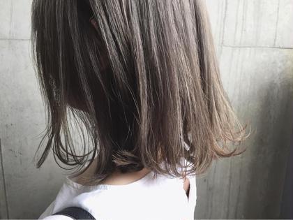 ブリーチ×2のトリプルカラー(*^◯^*) ハイトーンかわいい♡