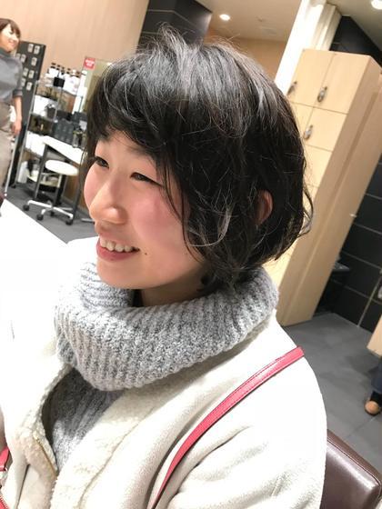 ふんわり動きのあるショートボブ☆ za/za所属・ヒラヤマユウスケのスタイル