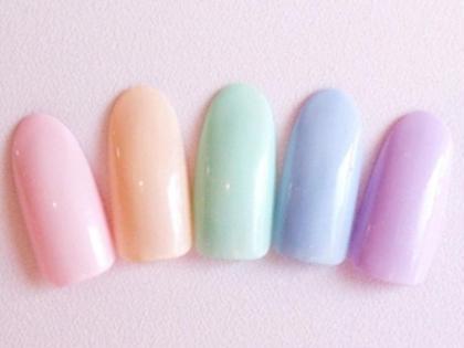 ワンカラー  カラー150種以上 ネイルサロンユースタイル所属・新宿店U-styleのフォト