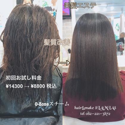 https://t.co/8qVpFR0Qxi メニューはこちら↑  美髪エステ 地毛の傷み回復に トリートメントではなく 根本から髪の毛の修復を行います! お試し料金がありますので お気軽にご連絡ください!  #広島 #8LAMIA8 #美容院  #ヘアカラー#ヘアエクステンション  #ヘアセット #ヘアアレンジ#メイク#編み込みエクステ#シールエクステ#JHSS広島校#ヘアメイクスクール #広島市中区 #広島美容室 #広島市美容室 #ミニモ#アットコスメ  hair&make 8LAMIA8(ラミア)   TEL 082-221-3872