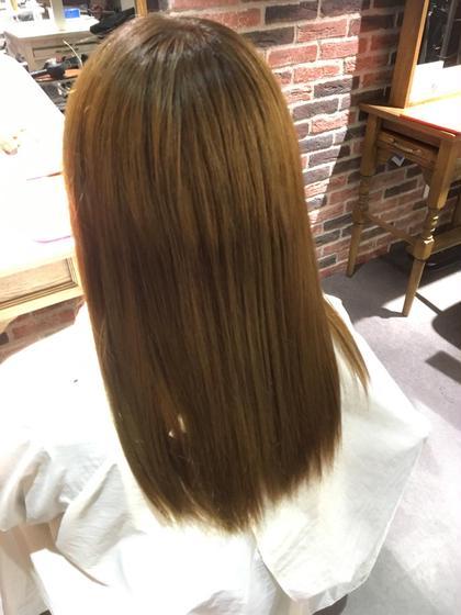 ミルクティーアッシュ♡ mignon byhappiness 高の原所属・大原京香のスタイル