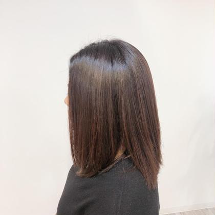 カット ➕ヘアカラー ➕縮毛矯正ヘアケアトリートメント