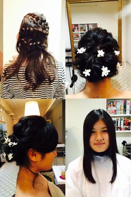 ブライダルヘアメイクについても、お気軽にご相談ください! photon brilo所属・小菅希和子のスタイル
