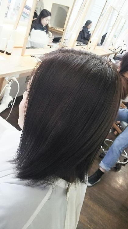 【♥大人気No.1♥】前髪カット&ヘアカラー & トリートメント