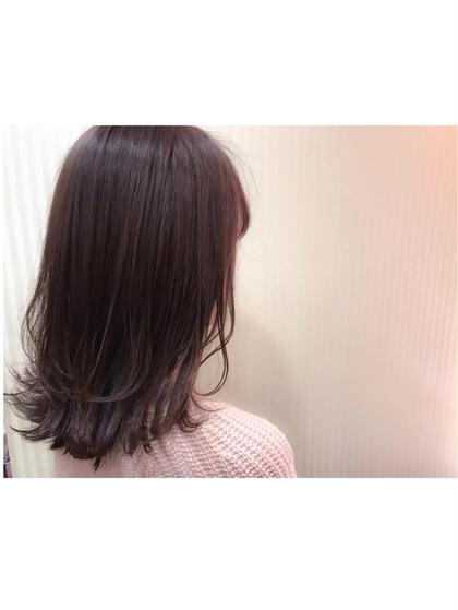 カラー ショート セミロング ミディアム ロング ベリーピンク♡