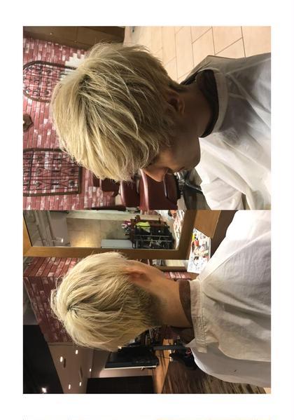 河井洸介のメンズヘアスタイル・髪型