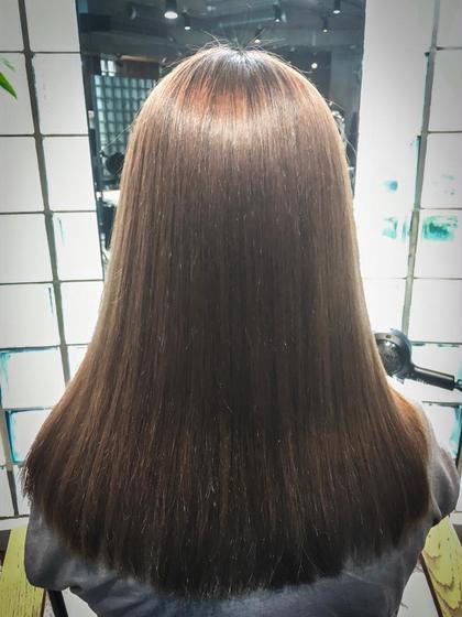 ツヤ髪ストレート×トリートメント relian所属・室優耶のスタイル