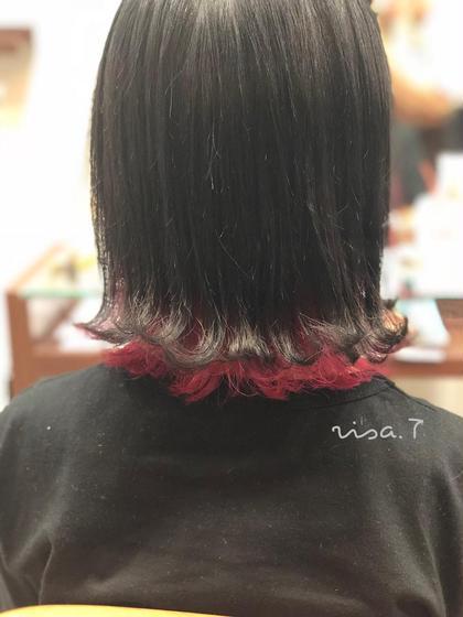 【新規限定】似合わせカット+イルミナカラー+インナーカラーor裾カラー(ブリーチ込)
