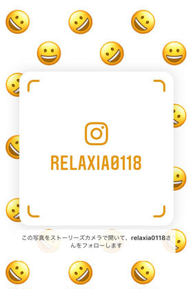 Instagramも拝見してみてくださいませ☆ 〜Relaxia〜所属・初村香奈のフォト