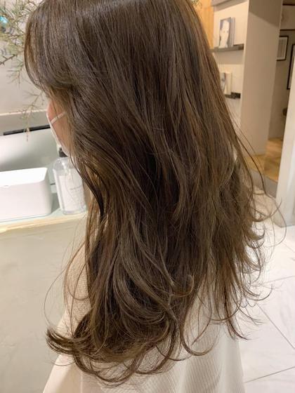 🕊ケアメニュー🕊 枝毛カット+透明感ワンカラー🌿+髪質改善トリートメント