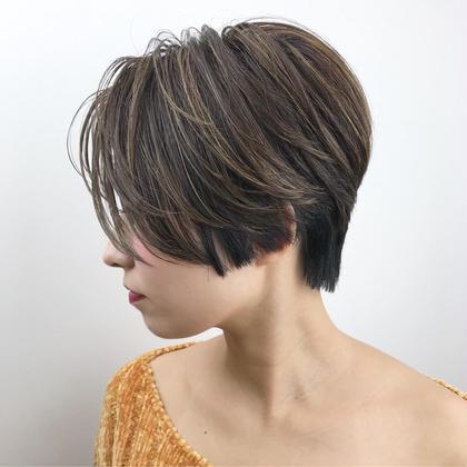 gif. hair所属・中村匠のスタイル