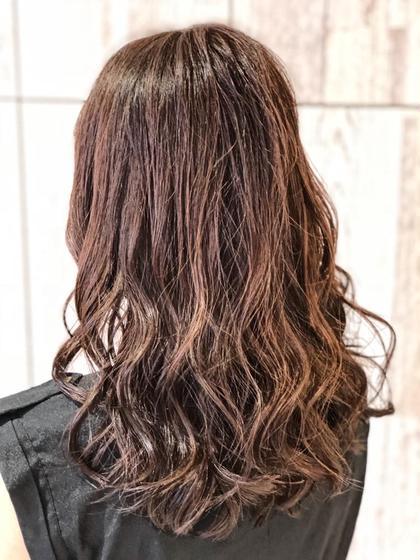 ツヤ髪カラー+5stepトリートメント💫