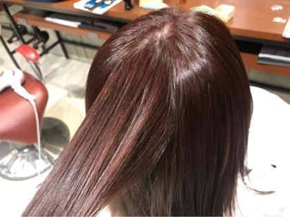 pink ash color 🎀✨ EARTH大和店所属・窪田優也のスタイル
