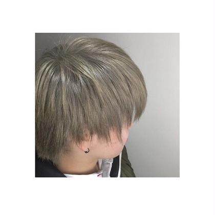 谷地舞華のショートのヘアスタイル