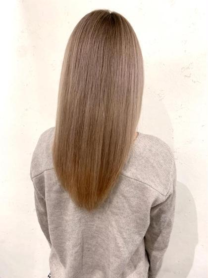 【髪質改善】カラー+サイエンスアクアトリートメント✨