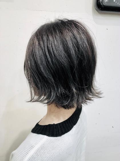 📣📣📣就活応援・ダークトーン透明感カラー&トリートメント&炭酸スパ&巻き髪セット📣📣📣【#アオハル】