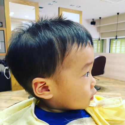キッズカット✂︎ 1歳7ヶ月✨✨  中尾英里のキッズヘアスタイル・髪型