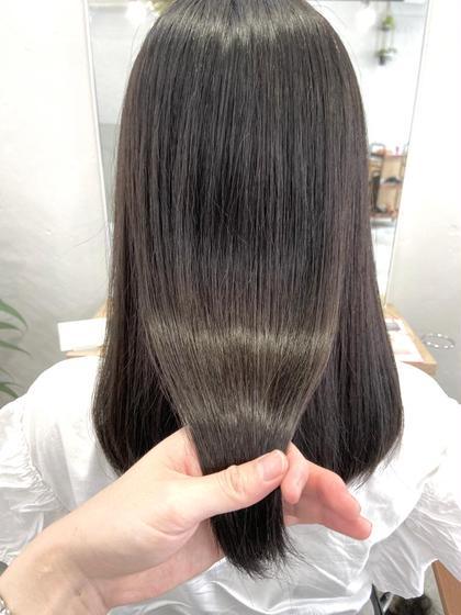📣社会人応援📣サブリミック×アルティストで作る美髪カラー✨職場で浮かない透明感あるダークトーンカラー+髪質改善✨