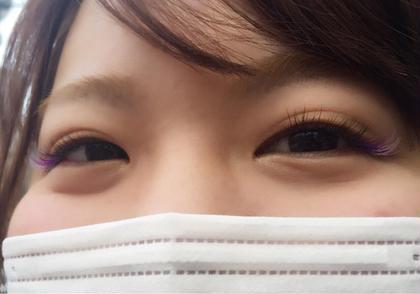 カラーエクステ eyelash salon CHOEGO(ちぇご)所属・マツエクサロンCHOEGOのフォト