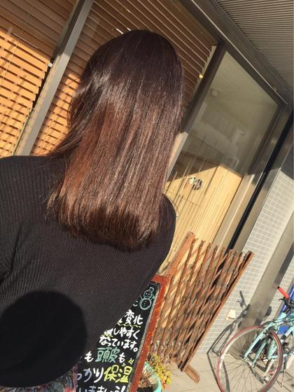 Aujuaトリートメント MusebyKENJE所属・阿部佑香のスタイル