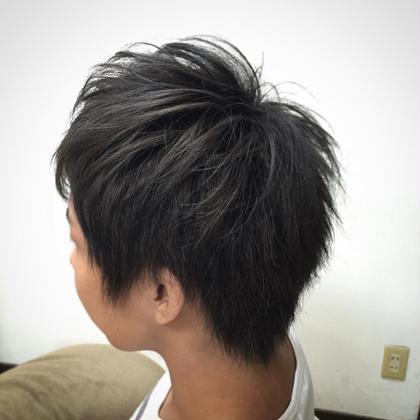 ブルーアッシュ 髪切処 ICHI所属・古川晃のスタイル