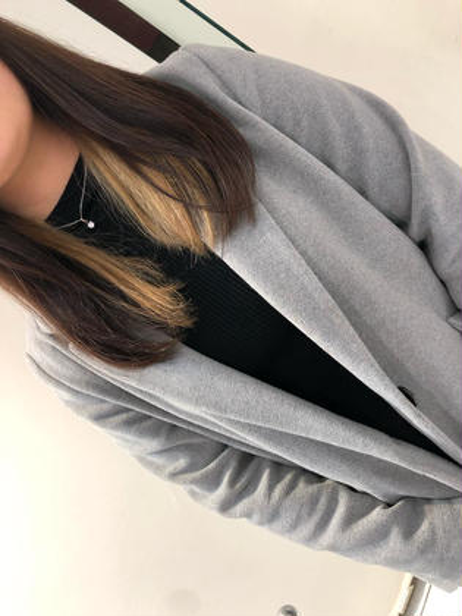 🎉インナーカラー🎉 ミルクティーベージュに仕上げました🤩 EXCEL大岡山店所属・倉澤星凪のスタイル