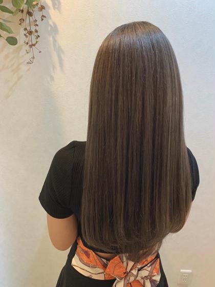 髪質改善Tr縮毛矯正+超音波3stepハホニコTr