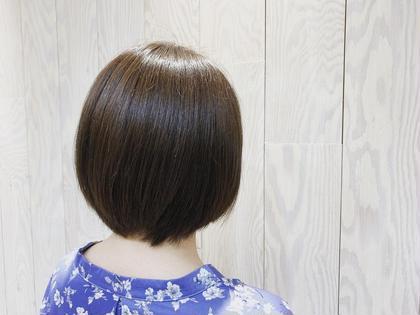 ナチュラルアッシュ hairtrees武蔵小杉店所属・佐藤彩香のスタイル
