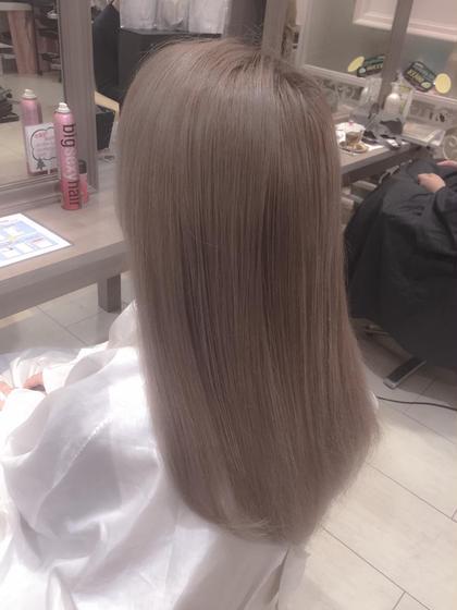 ミルクティーカラー 松島傑のヘアスタイル・ヘアカタログ