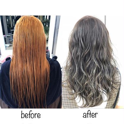 【⚜️Grand open⚜️特別価格】透明感ハイライト&極上艶髪フルカラー