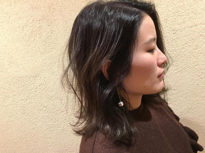雰囲気に合わせてナチュラルにハイライトグラデーション  paps  de coiffeur 宝塚南口店所属・田代広大のスタイル