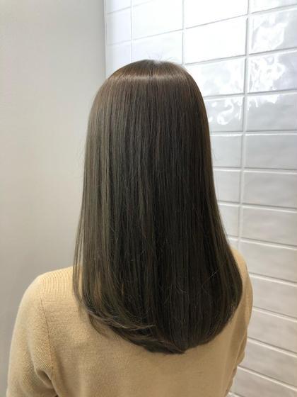 髪質改善モデル 艶髪カラー×艶髪トリートメント