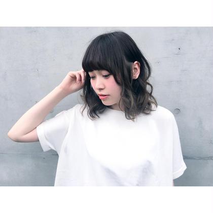 透け感ボブディ IMAJINE吉祥寺店所属・澤登友駿のスタイル