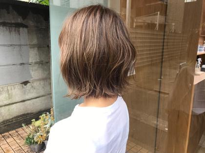 ハイライトボブ✨ em  hair所属・オカモトミズキ<副店長>のスタイル