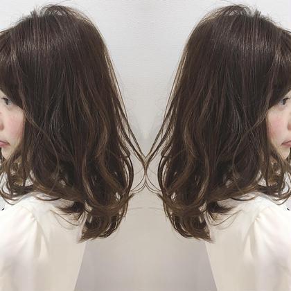 今井隆太のセミロングのヘアスタイル