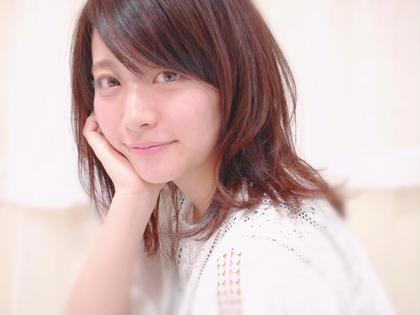 可愛さバツグン べリピカラー☆ Agu   hair rabbit所属・福西智哉のスタイル