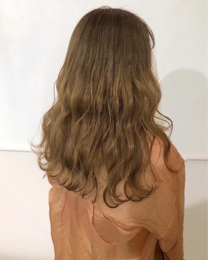 🦄💙『ケアブリーチ+ハイトーンカラー+髪質改善生トリートメント』💙🦄