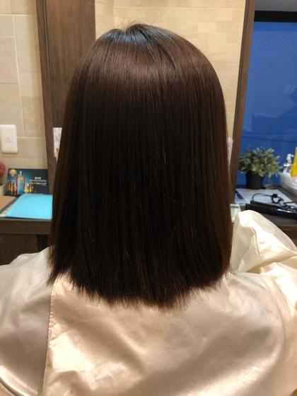 🌈6月限定🌈新規限定 50%off✨カット+縮毛矯正+2ステップトリートメント+ヘッドスパ