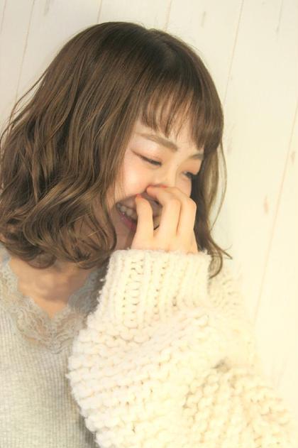【#黒髪卒業式】カット+イルミナカラー+グラデーションカラー
