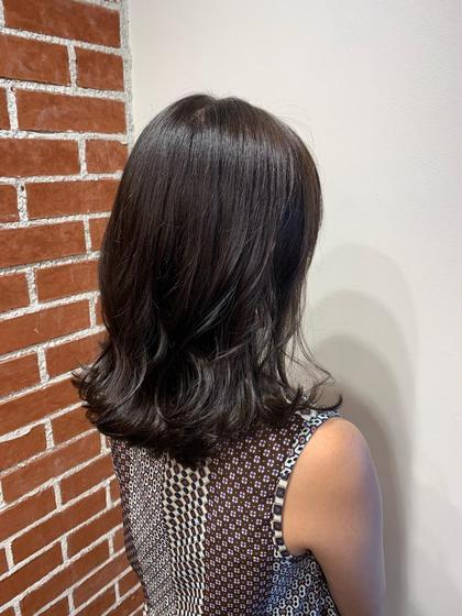 透明感抜群✨イルミナカラー✨/前髪カット(シャンプー・ブロー込み)