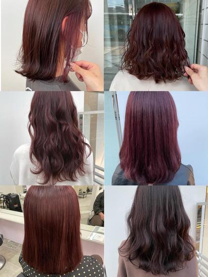 👼💖『ケアブリーチ+ピンクカラー+前髪カット』💖👼