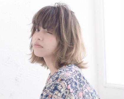 【カットカラーパーマ】+オージュアトリートメント