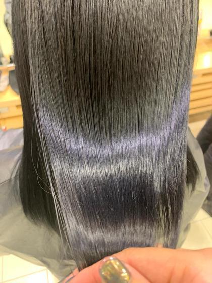 🌥(( 今だけ500円引き💗数名限定!))ヘアカラー& 髪質改善トリートメント / SNS話題のお得セット❤︎ 🌥