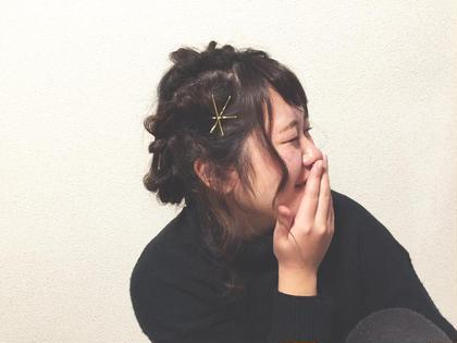 #ヘアアレンジ HAIR MAKE EARTH 流山おおたかの森店所属・渡邉茜のスタイル