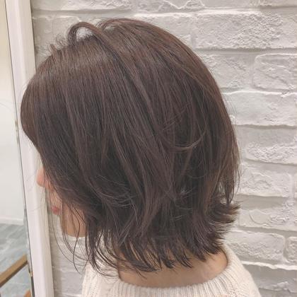 🌸前髪カット×モテカラー🌸