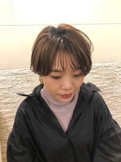 hairbrand b-arts所属のマネージャー歴12年MARIのヘアカタログ