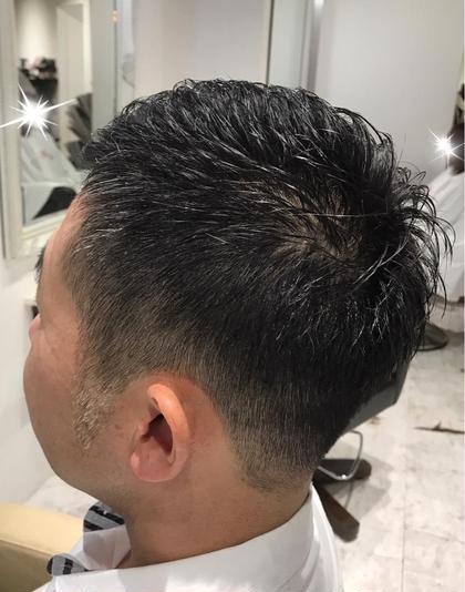 ベリーショート 橋本ラナのメンズヘアスタイル・髪型