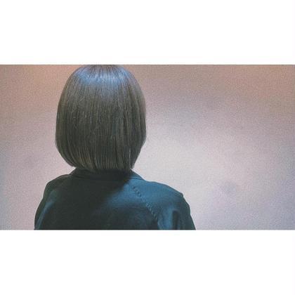 究極の美髪に color+ストレート+3stepトリートメント