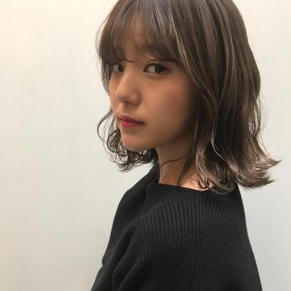 【1番人気メニュー】THROWカラー&似合わせカット&水素トリートメント